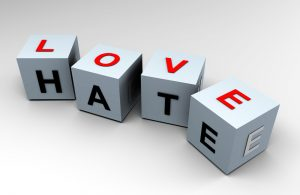 """Love & Hate """"Raye's Reflections"""" (Guest Blog)"""